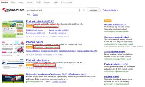 Viditelná URL - Sklik