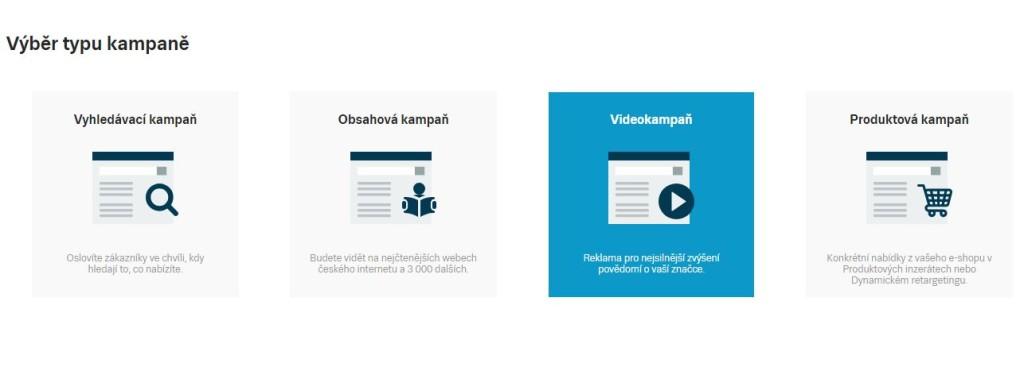 Videokampaně Sklik